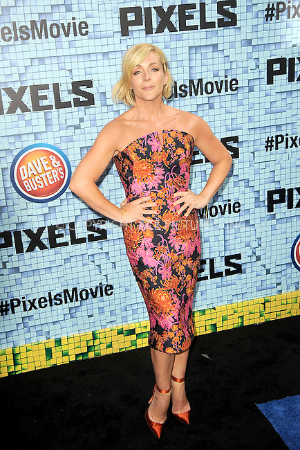 WWW.ACEPIXS.COM<br /> July 18, 2015 New York City<br /> <br /> Jane Krakowski attending the 'Pixels' Premiere at Regal E-Walk on July 18, 2015 in New York City.<br /> <br /> Please byline: Kristin Callahan/ACE <br /> <br /> <br /> Tel: (646) 769 0430<br /> e-mail: info@acepixs.com<br /> web: http://www.acepixs.com
