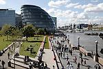 London City Hall, River Thames, South Bank, London, England