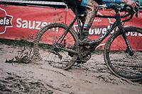 splashin' around<br /> <br /> Elite Men's Race<br /> Belgian National CX Championschips<br /> Kruibeke 2019
