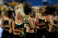 31 Aug 2008: Colorado State dancers perform at halftime of a game against Colorado. The Colorado Buffaloes defeated the Colorado State Rams 38-17 at Invesco Field at Mile High in Denver, Colorado. FOR EDITORIAL USE ONLY