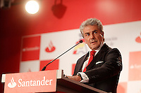 Enrique Garcia Candelas, director of Retail Banking Spain of Banco Santander during the gala Santander  Karting Champions 2012..(Alterphotos/Acero) NortePhoto