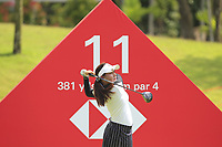 Atthaya Thitikul (AM)(THA) in action on the 11th during Round 4 of the HSBC Womens Champions 2018 at Sentosa Golf Club on the Sunday 4th March 2018.<br /> Picture:  Thos Caffrey / www.golffile.ie<br /> <br /> All photo usage must carry mandatory copyright credit (&copy; Golffile | Thos Caffrey)