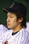Yuki Yanagita (JPN), <br /> NOVEMBER 15, 2014 - Baseball : <br /> 2014 All Star Series Game 3 between Japan 4-0 MLB All Stars <br /> at Tokyo Dome in Tokyo, Japan. <br /> (Photo by Shingo Ito/AFLO SPORT)[1195]
