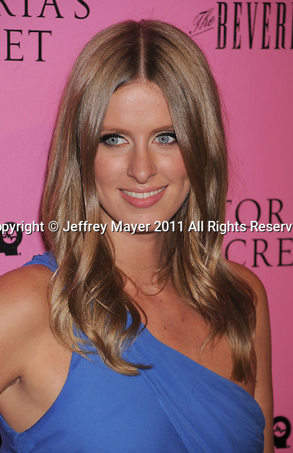 "LOS ANGELES, CA - MAY 12: Nicky Hilton arrives to the Victoria's Secret 6th Annual ""What Is Sexy? List: Bombshell Summer Edition"" Pink Carpet Event at The Beverly on May 12, 2011 in Los Angeles, California."