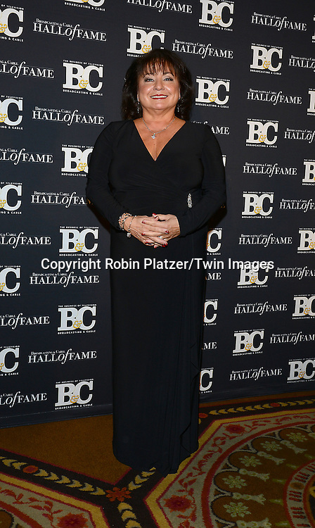 honoree Italia Commisso Weinand attends the 24th Annual Broadcasting &amp; Cable Hall of Fame Awards Dinner on October 20, 2014 at The Waldorf Astoria Hotel in New York City. <br /> <br /> photo by Robin Platzer/Twin Images<br />  <br /> phone number 212-935-0770