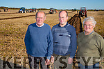 l-r  Joe Leen, Adrian Leen and Michael Hare at the Annual Ploughing Match in Ballyheigue,  held in the Rectory Field, Flahive Family on Sunday