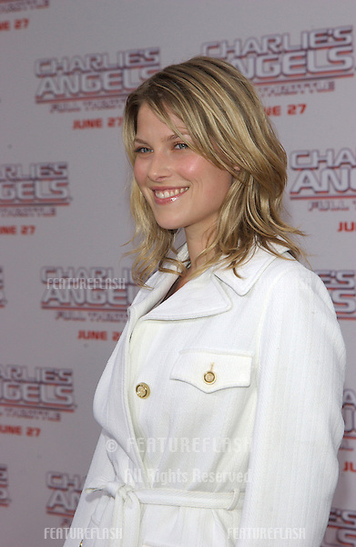 Actress ALI LARTER at the Hollywood premiere of Charlie's Angels: Full Throttle..June 18, 2003.