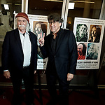 """a_David Crosby, Cameron Crowe - director 032 attends the Premiere Of Sony Pictures Classic's """"David Crosby: Remember My Name"""" at Linwood Dunn Theater on July 18, 2019 in Los Angeles, California."""