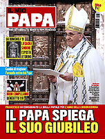 Il Mio Papa Italian Magazine Pope Francis.<br /> Photograph by Stefano Spazian