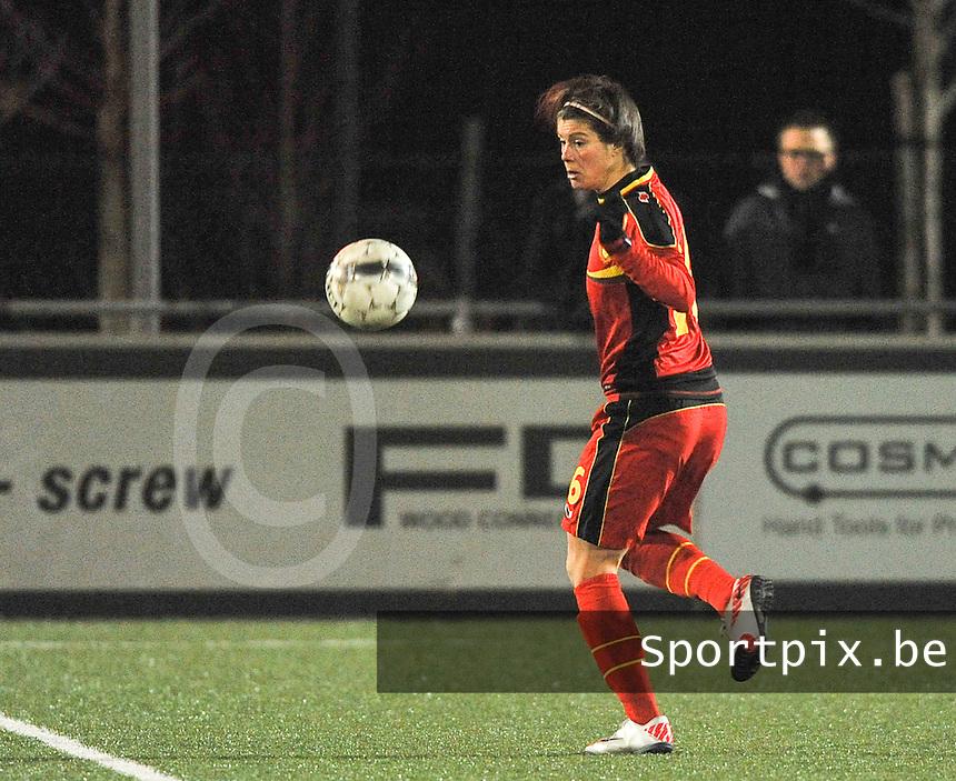 Belgium - Austria : Adeline Medard.foto DAVID CATRY / Vrouwenteam.be