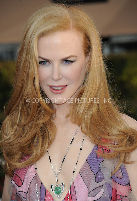 WWW.ACEPIXS.COM<br /> <br /> January 30 2016, LA<br /> <br /> Nicole Kidman arriving at the 22nd Annual Screen Actors Guild Awards at the Shrine Auditorium on January 30, 2016 in Los Angeles, California<br /> <br /> By Line: Peter West/ACE Pictures<br /> <br /> <br /> ACE Pictures, Inc.<br /> tel: 646 769 0430<br /> Email: info@acepixs.com<br /> www.acepixs.com