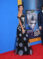 LOS ANGELES, CA. December 3, 2016: Camila Alves at the world premiere of &quot;Sing&quot; at the Microsoft Theatre LA Live.<br /> Picture: Paul Smith/Featureflash/SilverHub 0208 004 5359/ 07711 972644 Editors@silverhubmedia.com