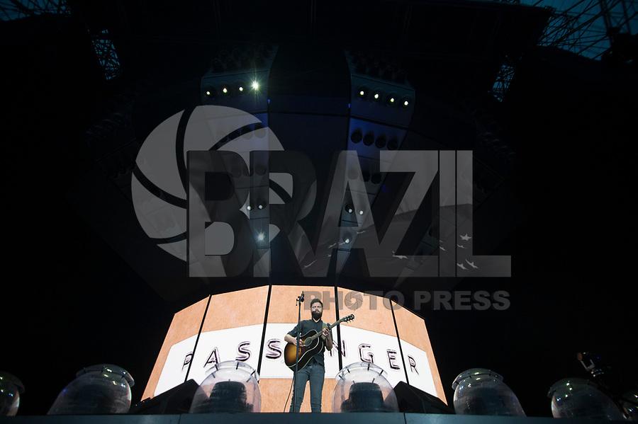 SAO PAULO, SP - SHOW-SP 14.02.2019 - Show Passenger - Apresentação da banda Passenger durante show realizado na Arena Allianz Parque em Sao Paulo, na noite desta quinta-feira, 14. (Foto: Levi Bianco/Brazil Photo Press)