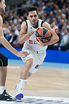 Real Madrid Facundo Campazzo during Turkish Airlines Euroleague match between Real Madrid and Fenerbahce Dogus at Wizink Center in Madrid , Spain. March 02, 2018. (ALTERPHOTOS/Borja B.Hojas)