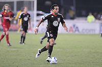 D.C. United forward Dwayne De Rosario (7). D.C. United defeated Real Salt Lake 4-1 at RFK Stadium, Saturday September 24 , 2011.