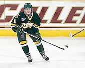 Saleah Morrison (Vermont - 4) - The University of Vermont Catamounts defeated the Boston College Eagles 5-1 on Saturday, November 7, 2009, at Conte Forum in Chestnut Hill, Massachusetts.