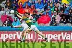 Peter Crowley, Kerry in Action Against Sean Cavanagh, Tyrone in the All Ireland Semi Final at Croke Park on Sunday.