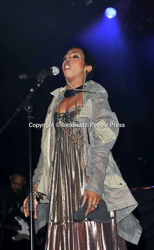 London - Lauryn Hill performs at Indigo O2, London - April 14th 2012..Photo by Rockbeatz.
