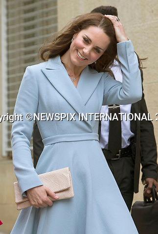 No UK Use For 28 Days - Until 7th June 2017<br /> <br /> 11.05.2017; Luxembourg: DUCHESS OF CAMBRIDGE ACCOMPANIED BY CROWN PRINCESS STEPHANIE AND PRINCE GUILLAUME<br /> walk through the Corniche.<br /> Kate was on a day visit to the Grand Duchy of Luxembourg to attend the official commemoration of the 1867 Treaty of London.<br /> Mandatory Photo Credit: &copy;Francis Dias/NEWSPIX INTERNATIONAL<br /> <br /> IMMEDIATE CONFIRMATION OF USAGE REQUIRED:<br /> Newspix International, 31 Chinnery Hill, Bishop's Stortford, ENGLAND CM23 3PS<br /> Tel:+441279 324672  ; Fax: +441279656877<br /> Mobile:  07775681153<br /> e-mail: info@newspixinternational.co.uk<br /> Usage Implies Acceptance of OUr Terms &amp; Conditions<br /> Please refer to usage terms. All Fees Payable To Newspix International
