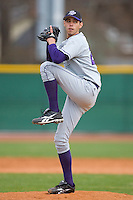 Wes Torrez #28 of the High Point Panthers in action versus the North Carolina A&T Aggies at War Memorial Stadium March 16, 2010, in Greensboro, North Carolina.  He is the son of former major league pitcher Mike Torrez.  Photo by Brian Westerholt / Four Seam Images