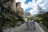 Passo di Falzarego, just northwest of Passo Giau.