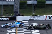 Verizon IndyCar Series<br /> ABC Supply 500<br /> Pocono Raceway, Long Pond, PA USA<br /> Sunday 20 August 2017<br /> Tony Kanaan, Chip Ganassi Racing Teams Honda, Josef Newgarden, Team Penske Chevrolet<br /> World Copyright: Michael L. Levitt<br /> LAT Images