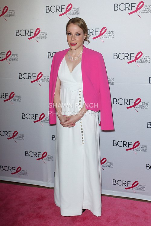 "Actress Emma Myles attends The Breast Cancer Research Foundation ""Super Nova"" Hot Pink Party on May 12, 2017 at the Park Avenue Armory in New York City."