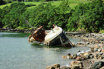 Fishing Boat Wreck on the Beach