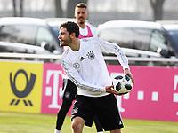 Jonas Hector (Deutschland Germany) - 25.03.2018: Training der Deutschen Nationalmannschaft, Olympiastadion Berlin