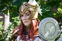 Valkyrie Leona from League of Legends by Sirena Cosplay, Pax Prime 2015, Seattle, Washington State, WA, America, USA.