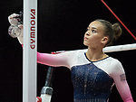 European Championships Glasgow 2nd August 2018. Women Qualifications. .FENTON Georgia-Mae GBR