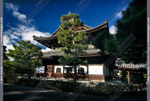 Kennin-ji Kenninji historic Zen Buddhist temple Hatto main