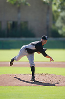 Chicago White Sox pitcher Blake Battenfield (50) follows through on his delivery during an Instructional League game against the Los Angeles Dodgers on September 30, 2017 at Camelback Ranch in Glendale, Arizona. (Zachary Lucy/Four Seam Images)