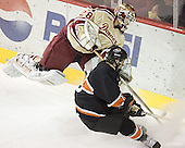 Glenn Fisher, Sebastian Borza - The Princeton University Tigers defeated the University of Denver Pioneers 4-1 in their first game of the Denver Cup on Friday, December 30, 2005 at Magness Arena in Denver, CO.