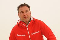 SCHAATSEN: HEERENVEEN: Thialf, 03-05-2013, Team Corendon, trainer/coach Jan van Veen, ©foto: Martin de Jong