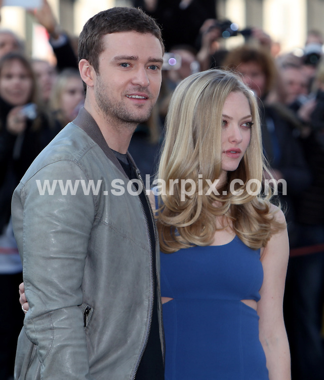 **ALL ROUND PICTURES FROM SOLARPIX.COM**                                             **UK AND SPAIN SYNDICATION RIGHTS ONLY**                                                                                  Caption: Justin Timberlake and Amanda Seyfried at the Photo Call for In Time in Berlin                                                                              This pic: Justin Timberlake and Amanda Seyfried                                                                                             JOB REF:14142        CPR/MK/AM/       DATE: 02.11.2011                                                           **MUST CREDIT SOLARPIX.COM OR DOUBLE FEE WILL BE CHARGED**                                                                      **MUST AGREE FEE BEFORE ONLINE USAGE**                               **CALL US ON: +34 952 811 768 or LOW RATE FROM UK 0844 617 7637**