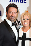 Hugh Jackman & Deborra-Lee Furness attending The Museum of Moving Image salutes Hugh Jackman at Cipriani Wall Street in New York on December 11, 2012