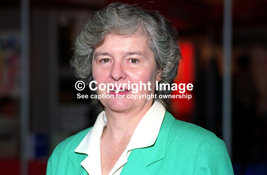 Llin Golding , MP, Labour Party, UK, 19921020LG.<br />