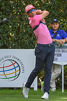Rafael Cabrera Bello (ESP) watches his tee shot on 12 during round 2 of the World Golf Championships, Mexico, Club De Golf Chapultepec, Mexico City, Mexico. 2/22/2019.<br /> Picture: Golffile | Ken Murray<br /> <br /> <br /> All photo usage must carry mandatory copyright credit (© Golffile | Ken Murray)