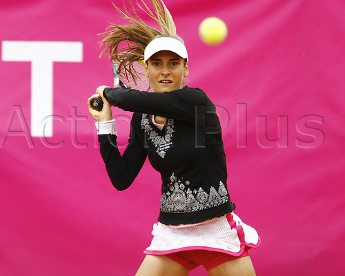 16 05 2010  Dia Evtimova Bul during the qualifications at the Strasbourg Womens Tennis Tour (WTA).