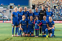 Seattle, WA - Saturday April 15, 2017: Seattle Reign FC Starting Eleven during a regular season National Women's Soccer League (NWSL) match between the Seattle Reign FC and Sky Blue FC at Memorial Stadium.