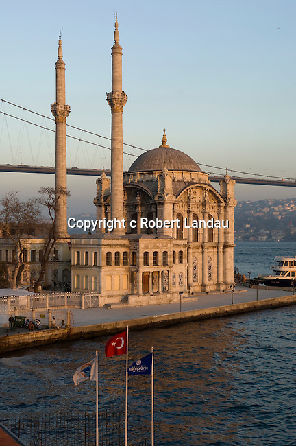 The Mosque at Ortakoy in Istanbul