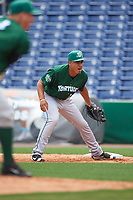Daytona Tortugas first baseman Avain Rachal (23) during a game against the Clearwater Threshers on April 20, 2016 at Bright House Field in Clearwater, Florida.  Clearwater defeated Daytona 4-2.  (Mike Janes/Four Seam Images)