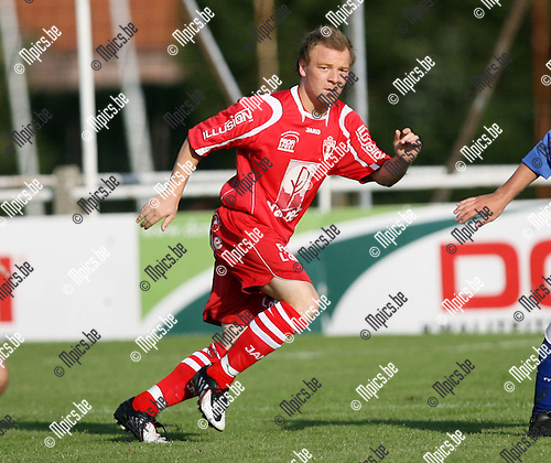 2009-07-19 / Seizoen 2009-2010 / Voetbal / TSV Lyra / Kristof Bauwens..Foto: Maarten Straetemans (SMB)