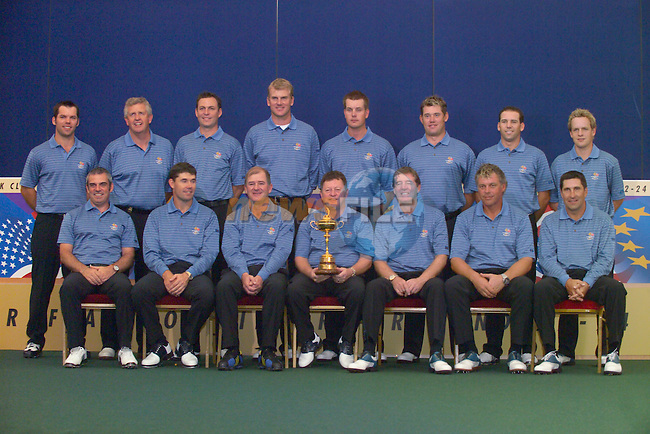 European Team Photo for the 2006 Ryder Cup at The K Club..Photo: Eoin Clarke/Newsfile.