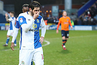 Blackburn Rovers' Danny Graham at the end of the game<br /> <br /> Photographer Rachel Holborn/CameraSport<br /> <br /> The EFL Sky Bet League One - Blackburn Rovers v Oldham Athletic - Saturday 10th February 2018 - Ewood Park - Blackburn<br /> <br /> World Copyright &copy; 2018 CameraSport. All rights reserved. 43 Linden Ave. Countesthorpe. Leicester. England. LE8 5PG - Tel: +44 (0) 116 277 4147 - admin@camerasport.com - www.camerasport.com