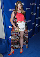 SANTA MONICA, CA, USA - MAY 16: Kaitlyn Jenkins at the Nautica And LA Confidential's Oceana Beach House Party held at the Marion Davies Guest House on May 16, 2014 in Santa Monica, California, United States. (Photo by Xavier Collin/Celebrity Monitor)