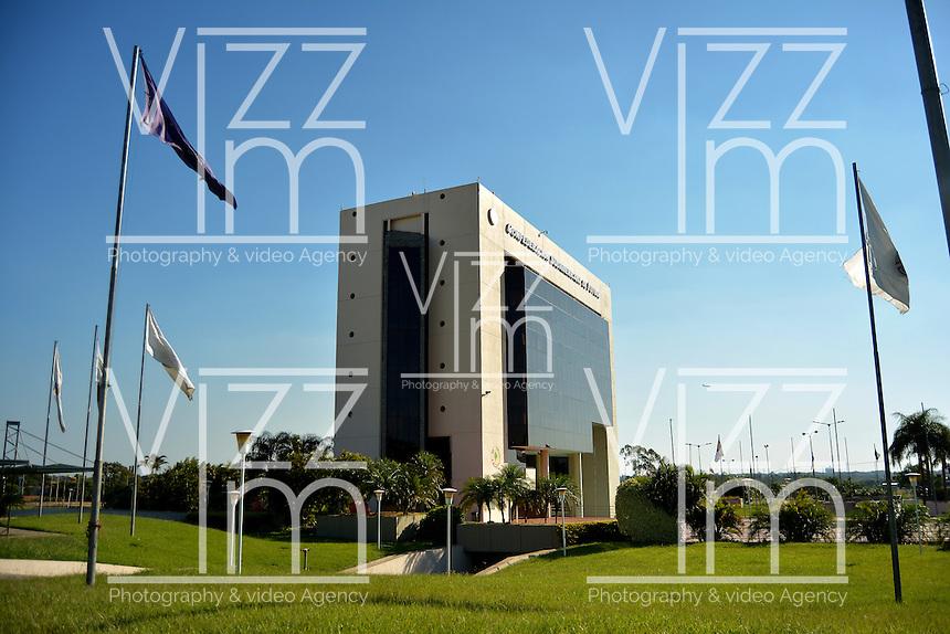 ASUNCION - PARAGUAY: Confederacion Suramericana de Futbol en Asuncion, Paraguay. South American Football Confederation in Asuncion, Paraguay. (Photo:  VizzorImage / Cont.)..........