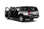 Rear three quarter door view of a 2015 Chevrolet Suburban 2WD 1500 LT 5 Door SUV