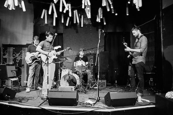 The Burlies play Glasslands Gallery in Brooklyn, New York on June 25, 2013.